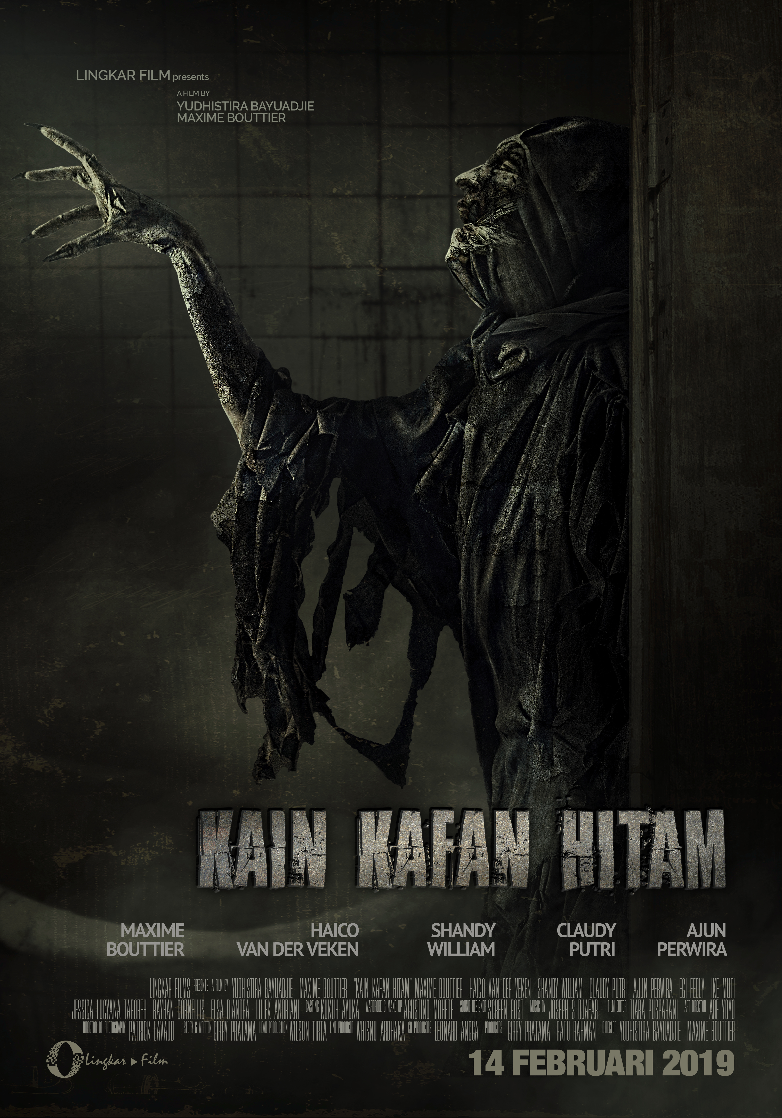 Hasil gambar untuk KAIN KAFAN HITAM poster