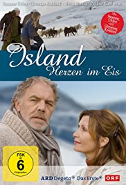 Island - Herzen im Eis Poster