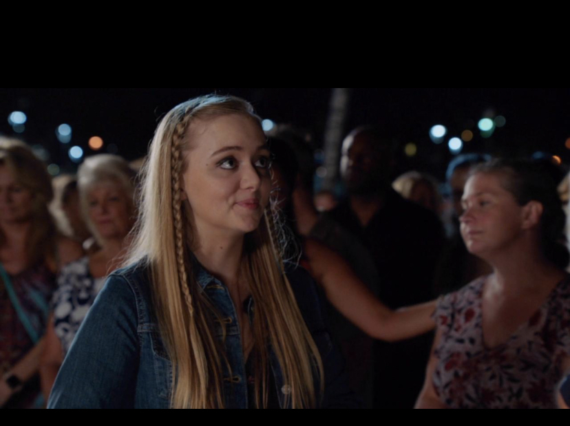 Maddie Nichols as Annie Kerr - Hawaii 5-0.  Ikkiiki Ka la Lo Keawalua