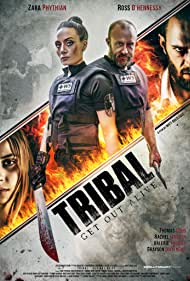 Thomas Dodd, Ross O'Hennessy, Zara Phythian, and Valerie Thomas in Tribal Get Out Alive (2020)