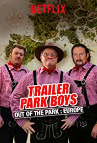 John Paul Tremblay, Mike Smith, and Robb Wells in Trailer Park Boys: Out of the Park (2016)