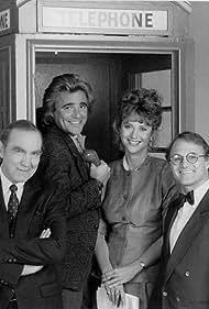 Ken Pogue, Winston Rekert, Dixie Seatle, and Jonathan Welsh in Adderly (1986)