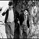 Charles Chaplin and Mabel Normand in The Fatal Mallet (1914)