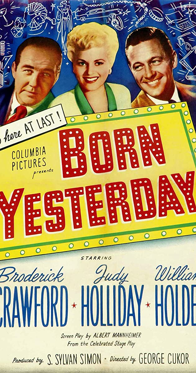 Subtitle of Born Yesterday