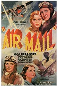 Ralph Bellamy, Gloria Stuart, Pat O'Brien, and Lilian Bond in Air Mail (1932)