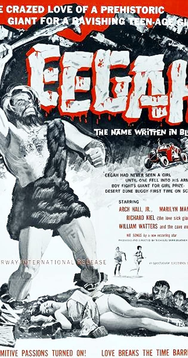 Eegah Movie Poster 1962