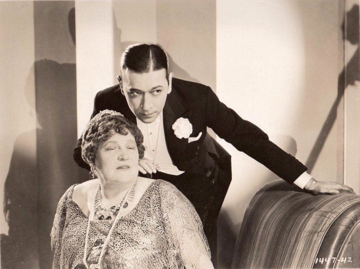 Clive Brook and Alison Skipworth in Midnight Club (1933)
