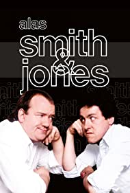 Griff Rhys Jones and Mel Smith in Alas Smith & Jones (1984)