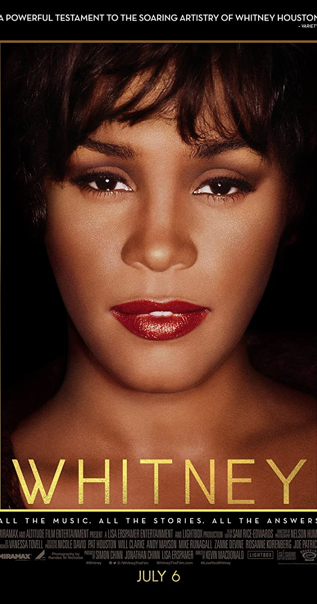 Image result for whitney the movie poster