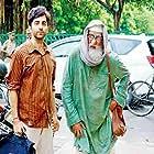Amitabh Bachchan and Ayushmann Khurrana in Gulabo Sitabo (2020)