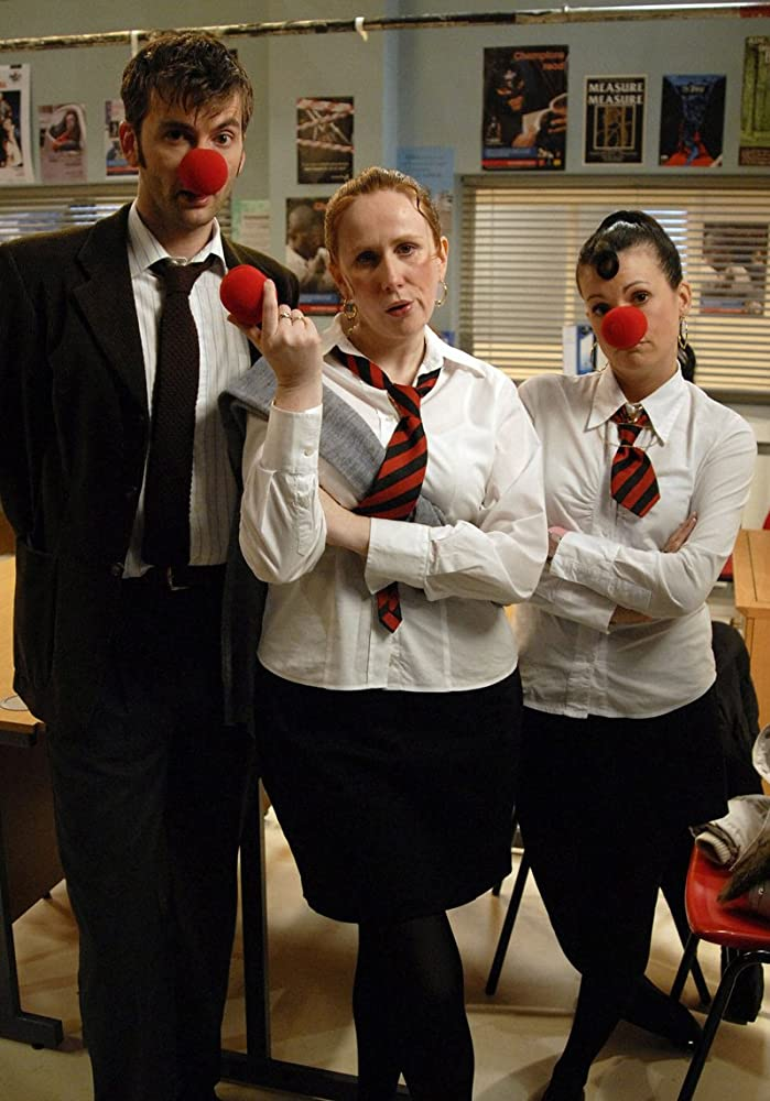 Catherine Tate, David Tennant, and Niky Wardley in The Catherine Tate Show (2004)