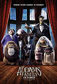Charlize Theron, Bette Midler, Snoop Dogg, Conrad Vernon, Oscar Isaac, Chloë Grace Moretz, Nick Kroll, and Finn Wolfhard in The Addams Family (2019)