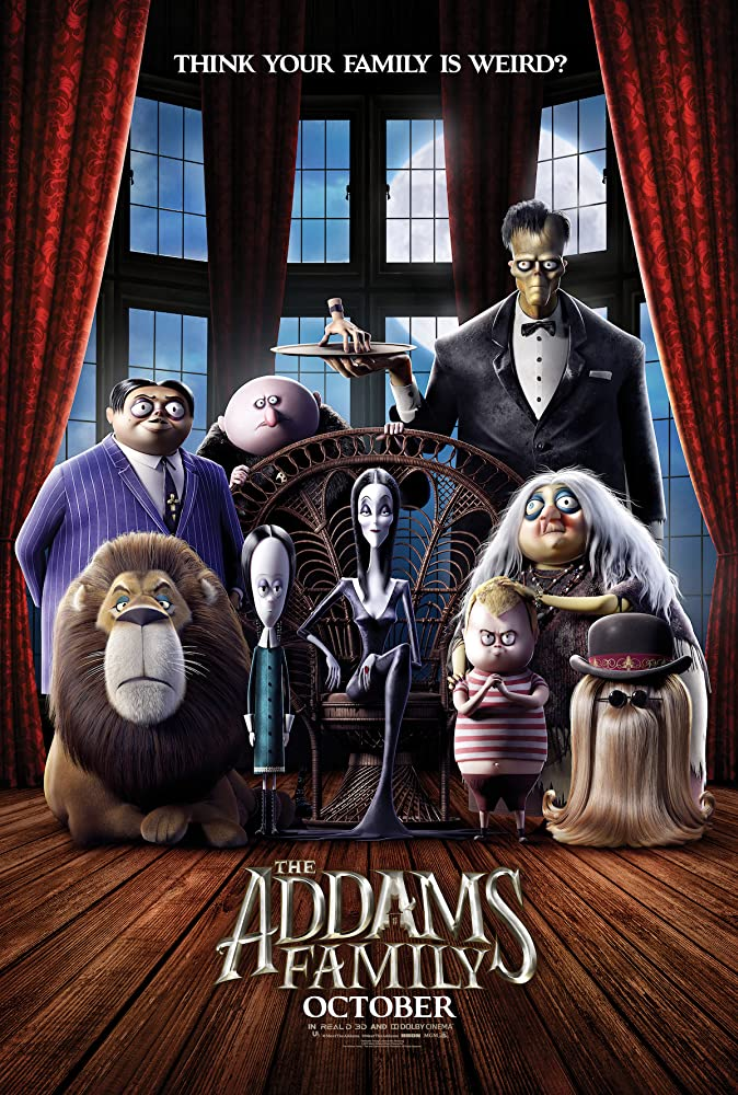 The Addams Family Cover