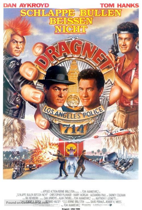 Dan Aykroyd and Tom Hanks in Dragnet (1987)