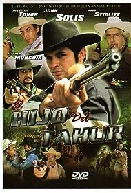 Manolo Cárdenas, Alfonso Munguía, Hugo Stiglitz, Luis Felipe Tovar, Alexa Castillo, and John Solis in El hijo del tahúr (2003)
