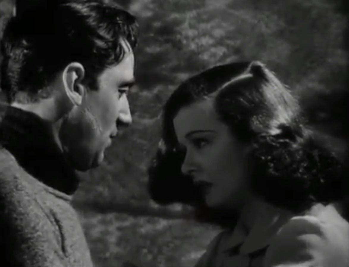 Joan Bennett and Walter Pidgeon in Man Hunt (1941)