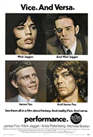 Mick Jagger and James Fox in Performance (1970)