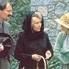 Jim Broadbent, Mia Farrow, and Joan Plowright in Widows' Peak (1994)