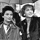 Lucia Bosè and Lea Padovani in Roma ore 11 (1952)