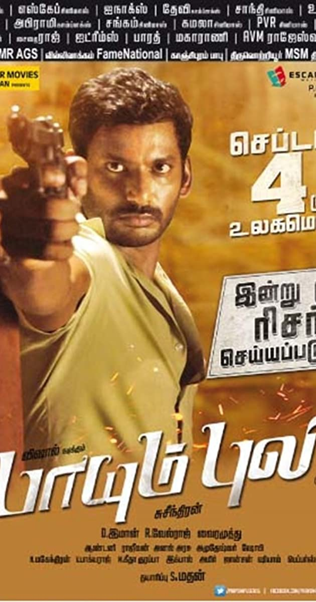Paayum Puli yts torrent magnetic links