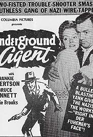 Underground Agent Poster