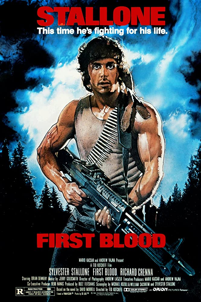 First Blood 1982 Hindi Dual Audio BluRay ESub 300MB Download