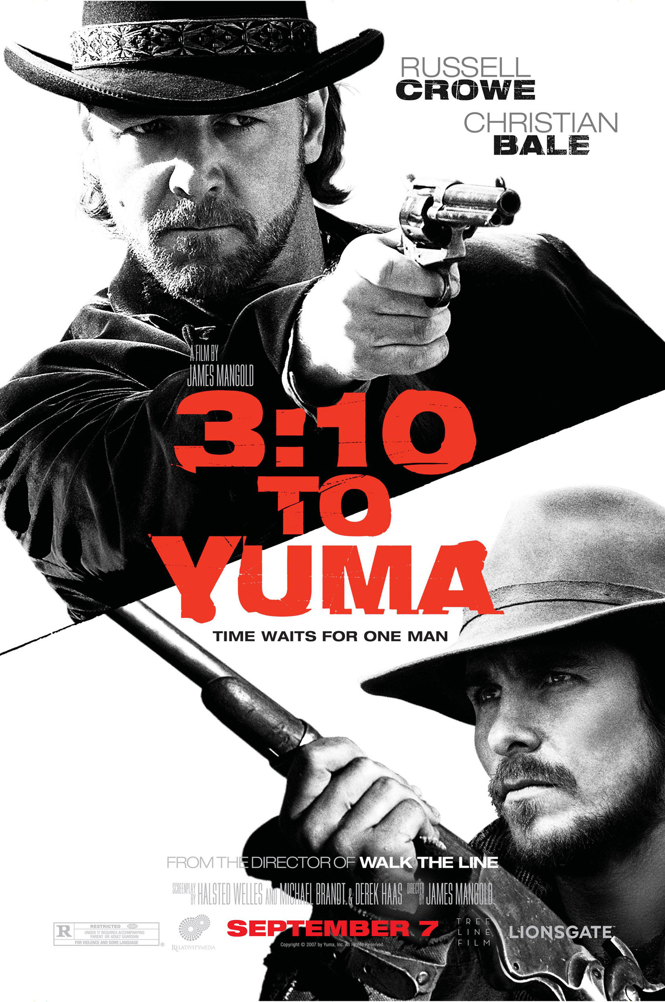 Image result for 3.10 to Yuma (2007)