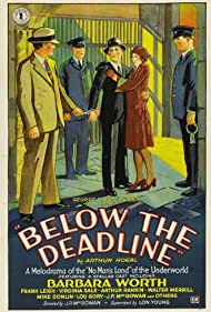 Frank Leigh and Barbara Worth in Below the Deadline (1929)
