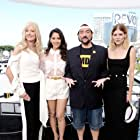 Joely Richardson, Kevin Smith, Olivia Munn, and Emma Greenwell at an event for IMDb at San Diego Comic-Con (2016)
