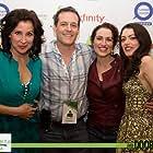 Tenaya Cleveland, Robert Pralgo, Lynn Talley and Hannah Fierman at event of The Unwanted.