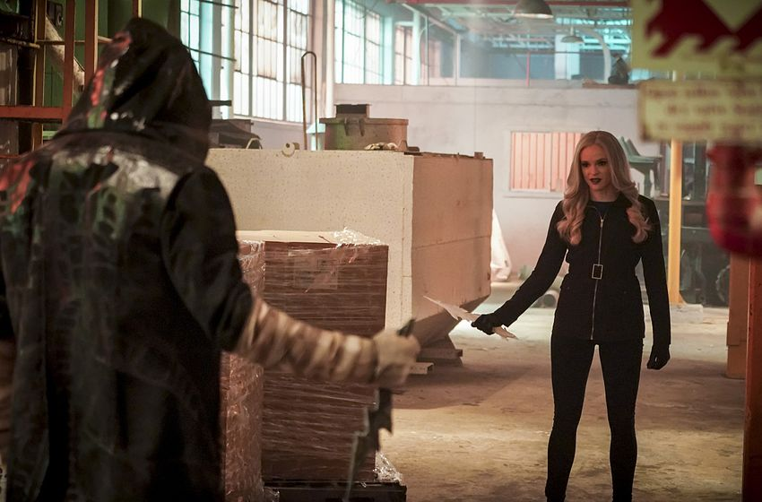 Chris Klein and Danielle Panabaker in The Flash (2014)