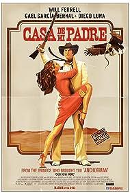 Will Ferrell and Genesis Rodriguez in Casa de mi Padre (2012)