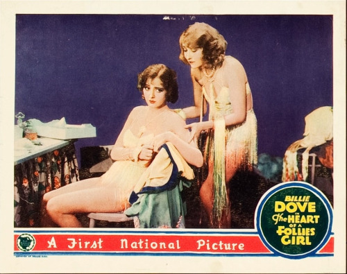Billie Dove and Mildred Harris in The Heart of a Follies Girl (1928)