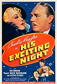 His Exciting Night Poster