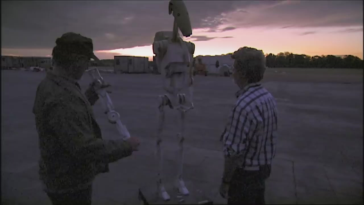 George Lucas and Steven Spielberg in The Beginning: Making 'Episode I' (2001)