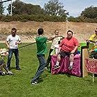 Jason 'Wee Man' Acuña, Ryan Dunn, Dave England, Bam Margera, Ehren McGhehey, Steve-O, Preston Lacy, and Mark Zupan in Jackass 3.5 (2011)