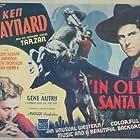 Evalyn Knapp, Ken Maynard, and Tarzan in In Old Santa Fe (1934)