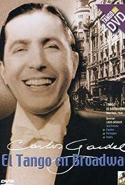 El tango en Broadway Poster