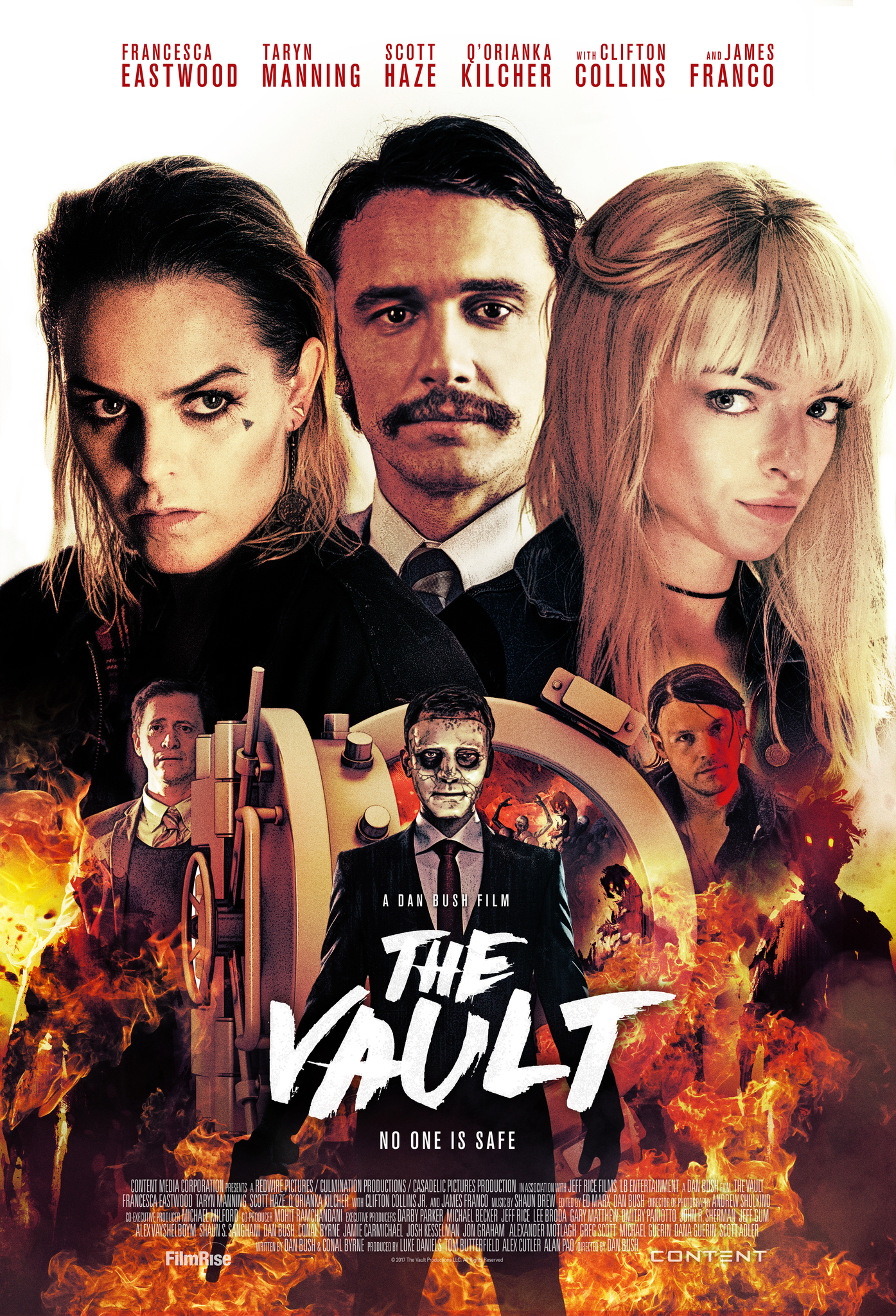 The Vault (2017) BluRay 480p, 720p & 1080p