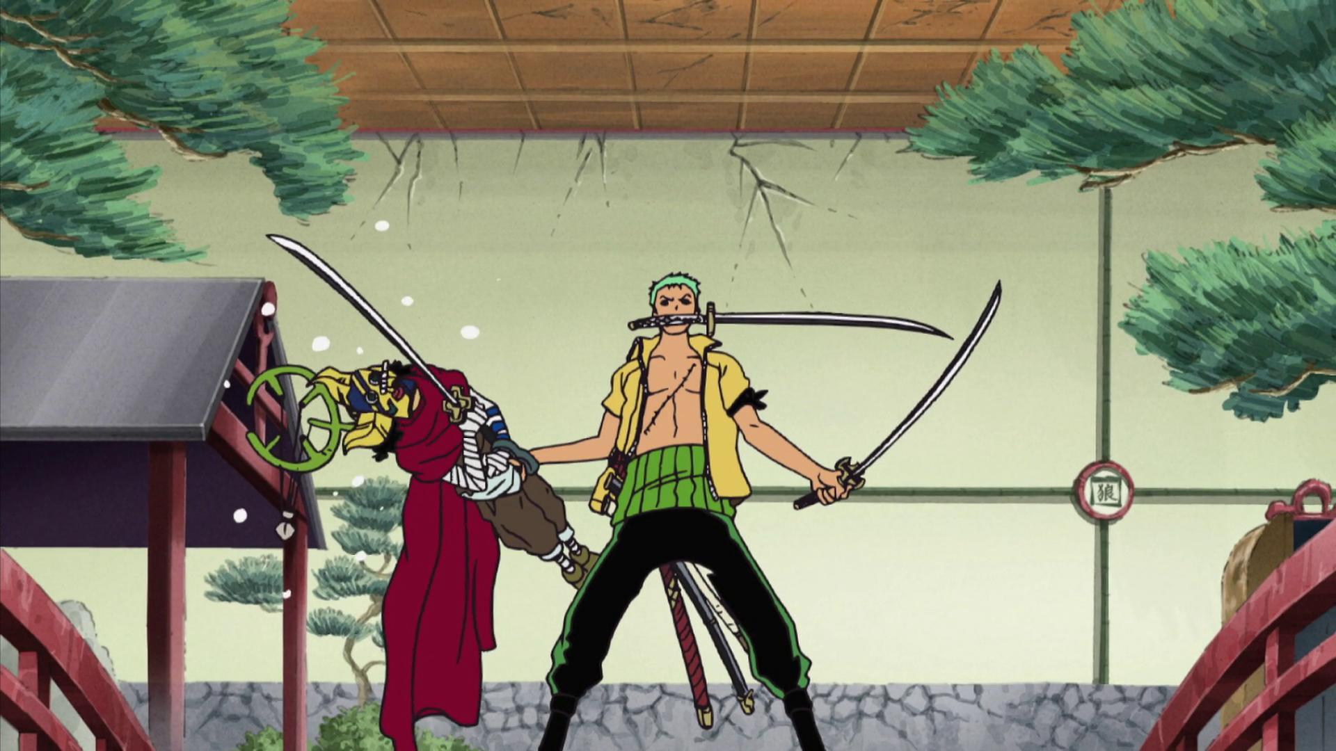 """One Piece"""" Zoro Shinwaza Sakuretsu! Katana no Na wa Sogeking? (TV Episode 2006) - IMDb"""