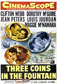 Three Coins in the Fountain Poster