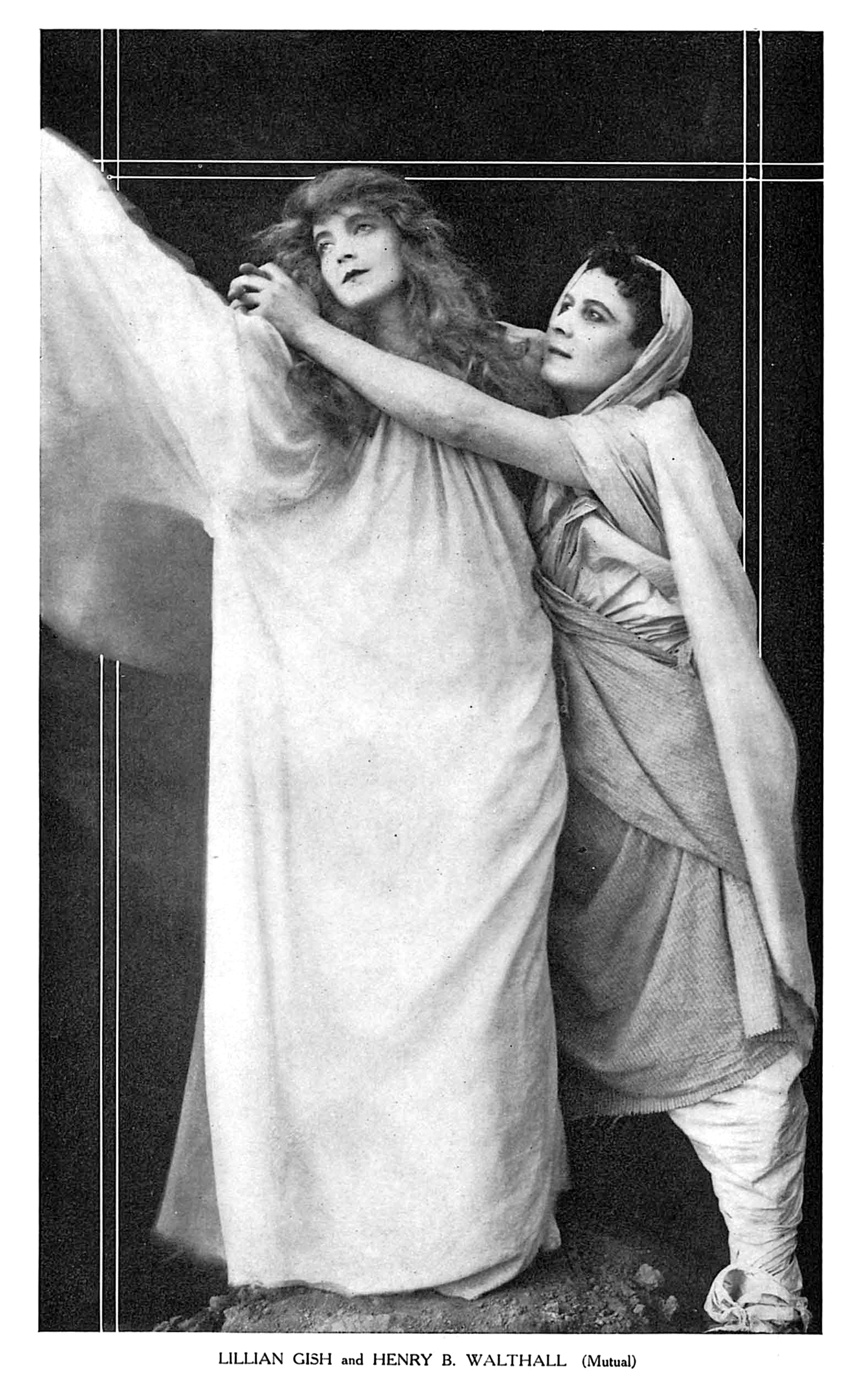 Lillian Gish and Henry B. Walthall in Home, Sweet Home (1914)