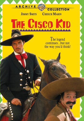 Cheech Marin and Jimmy Smits in The Cisco Kid (1994)