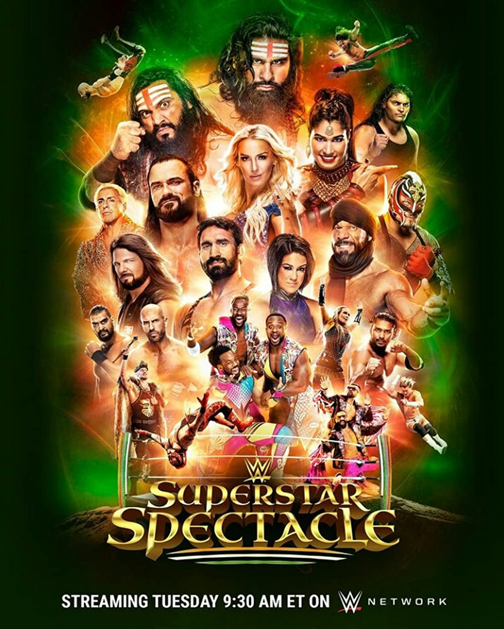 WWE Superstar Spectacle (26 January 2021) English 720p HDRip 640MB | 300MB Download