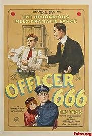 Officer 666 Poster