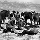 Gregory Peck, Richard Widmark, Robert Arthur, Harry Morgan, and John Russell in Yellow Sky (1948)