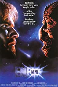 Dennis Quaid and Louis Gossett Jr. in Enemy Mine (1985)