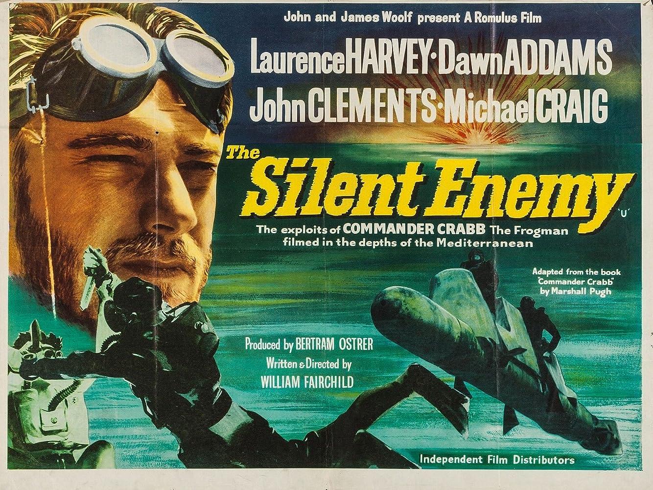 The Silent Enemy Gibraltar 1958 ( Full Film )