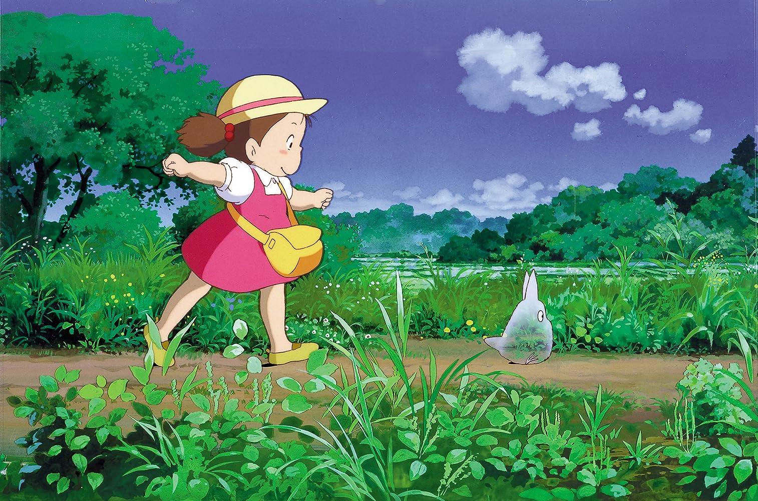 Chika Sakamoto in Tonari no Totoro (1988)