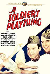 Harry Langdon, Lotti Loder, and Ben Lyon in A Soldier's Plaything (1930)
